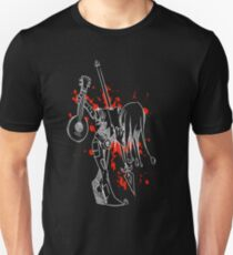 Darkest Dungeon Jester Finale (Weiße Version) Slim Fit T-Shirt
