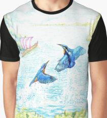 Alcyone and Ceyx Graphic T-Shirt