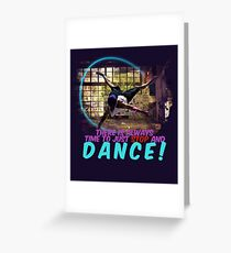 Dancing Light - Stop and Dance Greeting Card