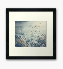 Magical ecape  Framed Print