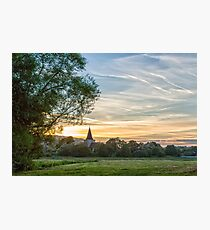 St Andrews Church, Alfriston, Photographic Print