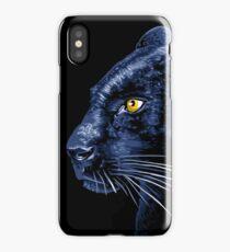 Panther profile iPhone Case/Skin