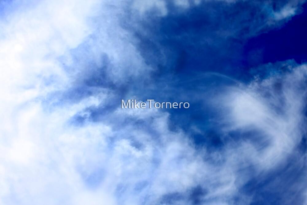 Cloudy sky by MikeTornero