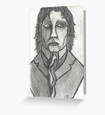 THE DISTINGUISED COMPOSER Greeting Card