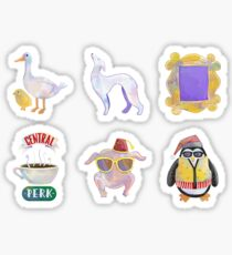 Friends icons Sticker