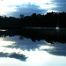 Dawn yacht on Lune River by ingridewhere