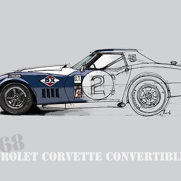 Chevrolet Corvette L88 by drawspots