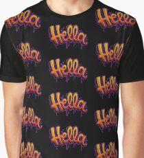 HELLA -SF in black Graphic T-Shirt