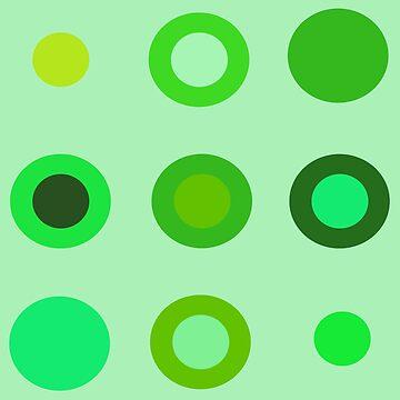Green Circles by ZebraArmada
