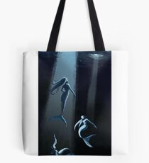 Mermaids of the deep Tote Bag