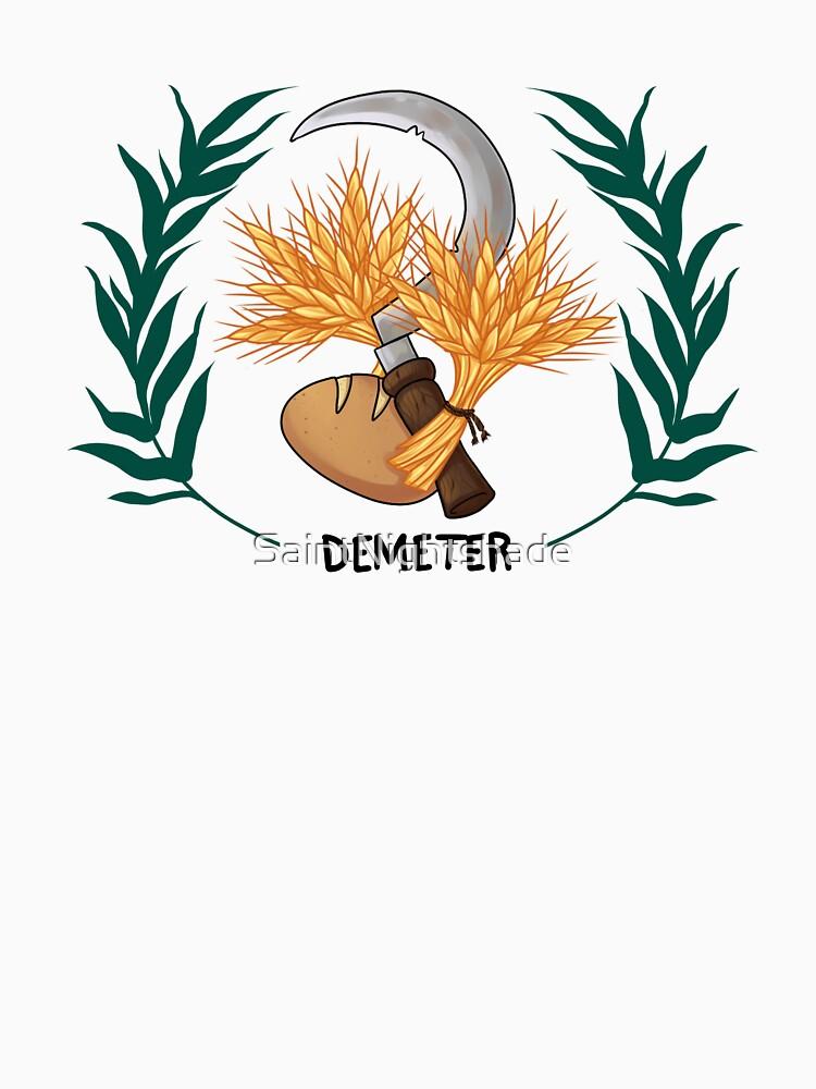 Demeter Inspired Cabin Symbol Classic T Shirt By Saintnightshade