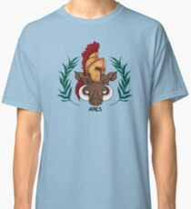 Ares Inspired Cabin Symbol Classic T-Shirt