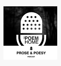 ThePOEMHOME Podcast Logo Photographic Print