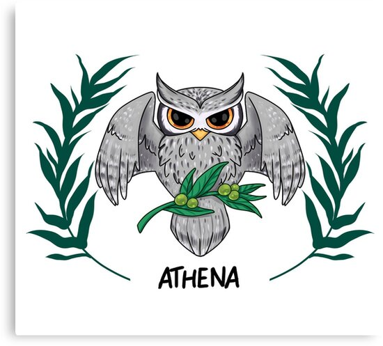 Athena Symbol Owl