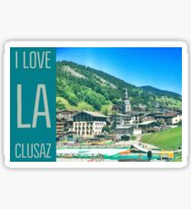 I Love La Clusaz - Summer Sticker