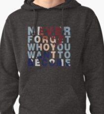 Shouto Todoroki Quote Pullover Hoodie