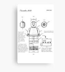 Lego Plane Canvas Print