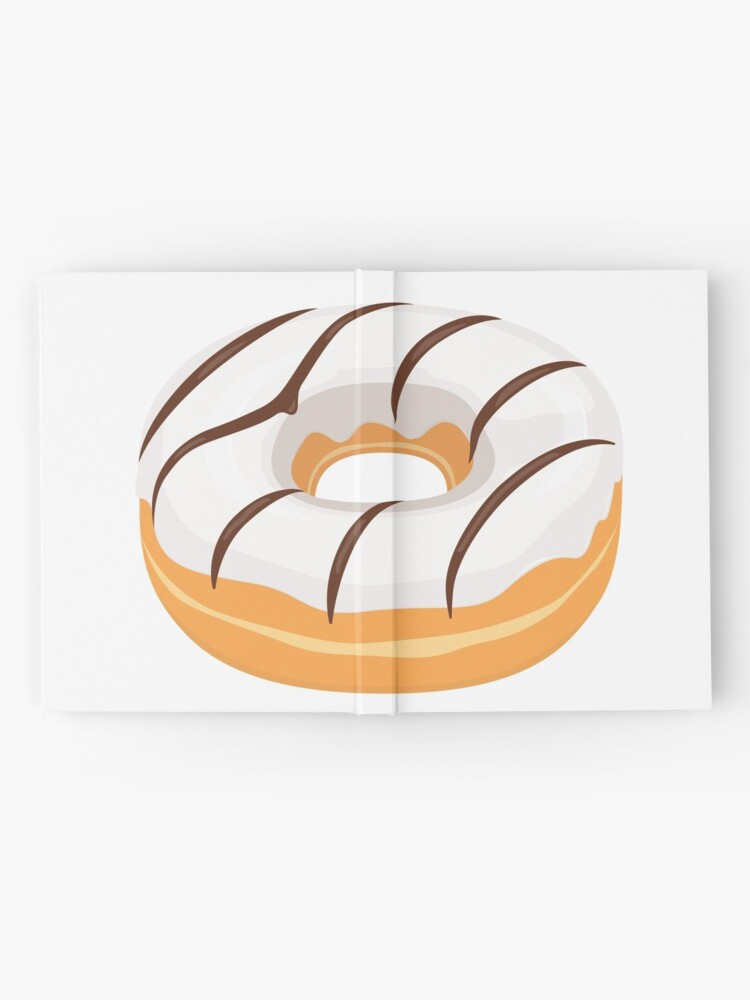 Alternate view of White Chocolate Glazed Donut Hardcover Journal