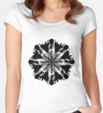 Queen (Mandala) Women's Fitted Scoop T-Shirt