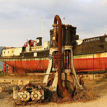 Laborieux et moteurs à vapeur by masarukishino