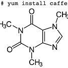 yum install caffeine by ngwoosh