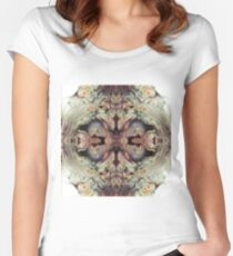 Psychedelic Contemplation Women's Fitted Scoop T-Shirt
