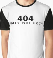 404 Sanity Not Found Graphic T-Shirt