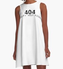 404 Sanity Not Found A-Line Dress