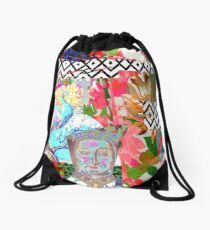 Tracy Porter / Roxy Attic: Rogue Royal Red Drawstring Bag