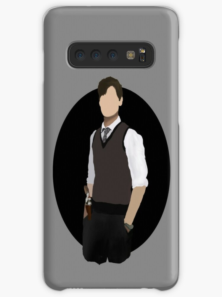 'Spencer Reid / Matthew Gray Gubler Criminal Minds Sillouette Art With  Background' Case/Skin for Samsung Galaxy by Weyheycallie