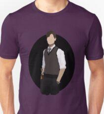 Spencer Reid / Matthew Gray Gubler Criminal Minds Sillouette Art With Background T-Shirt