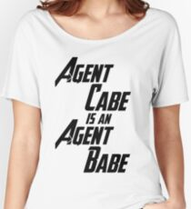 Agent Cabe is an Agent Babe Women's Relaxed Fit T-Shirt