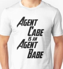 Agent Cabe is an Agent Babe T-Shirt
