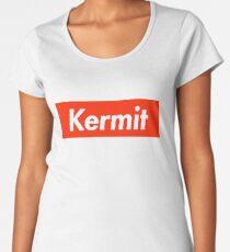 Kermit as Supreme Logo Women's Premium T-Shirt