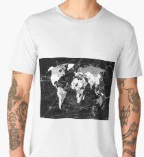 world map Men's Premium T-Shirt