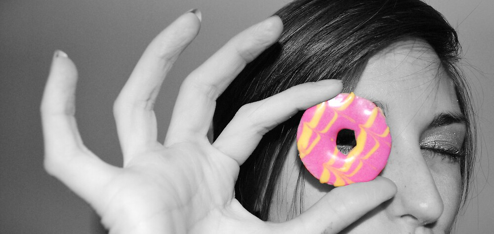 pink party ring by KimmyEvans