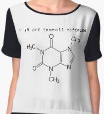 dnf install caffeine Chiffon Top