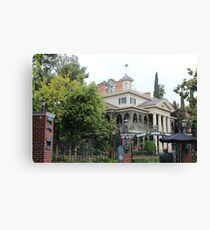 Enter the Haunted Mansion Canvas Print