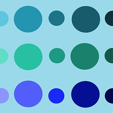 Blue Circles by ZebraArmada