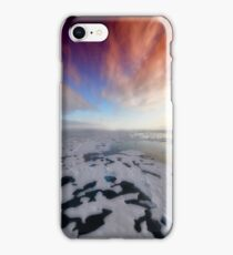 Snow Covered Lake  iPhone Case/Skin