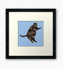 Mosaic the Cat Framed Print