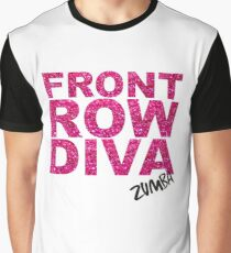 Front Row Diva Graphic T-Shirt