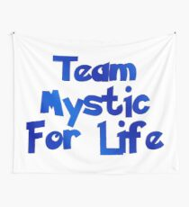 Pokemon Go - Team Mystic For Life Wall Tapestry