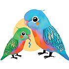 Parakeets by © Karin Taylor