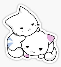 Cute Anime Kittens Sticker