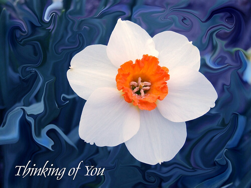 Thinking of You Card by Jim  Darnall