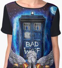 Doctor Who  Women's Chiffon Top