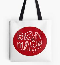 Bryn Mawr College Class color red Tote Bag