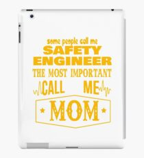 SAFETY ENGINEER BEST COLLECTION 2017 iPad Case/Skin
