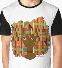 kente afro girl Graphic T-Shirt